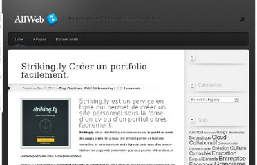 http://allweb2.com/2012/09/striking-ly-creer-un-portfolio-facilement/
