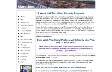 http://www.marathon-training-program.com/training-program-for-half-marathons.html