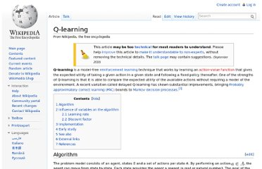 http://en.wikipedia.org/wiki/Q-learning