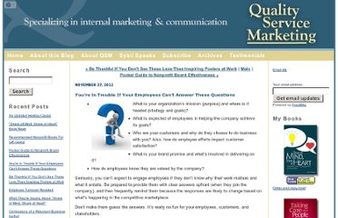 http://qualityservicemarketing.blogs.com/quality_service_marketing/2012/11/youre-in-trouble-if-your-employees-cant-answer-these-questions.html