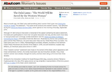 http://womensissues.about.com/b/2009/10/19/the-dalai-lama-the-world-will-be-saved-by-the-western-woman.htm