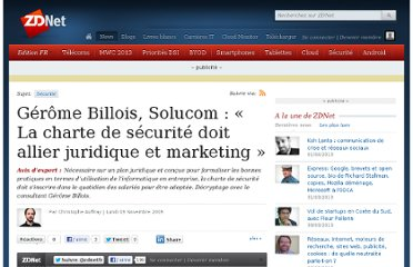 http://www.zdnet.fr/actualites/gerome-billois-solucom-la-charte-de-securite-doit-allier-juridique-et-marketing-39710523.htm