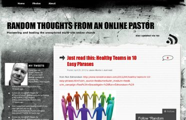 http://jasonandmaria.wordpress.com/2012/04/29/just-read-this-healthy-teams-in-10-easy-phrases/