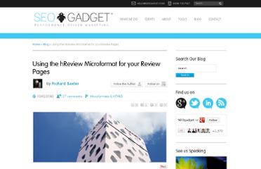 http://seogadget.com/using-hreview-microformat-on-your-review-page/