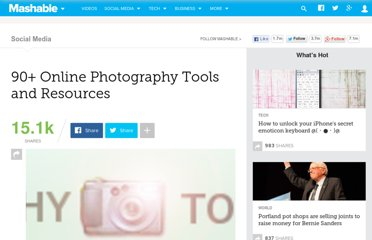 http://mashable.com/2007/06/23/photography-toolbox/