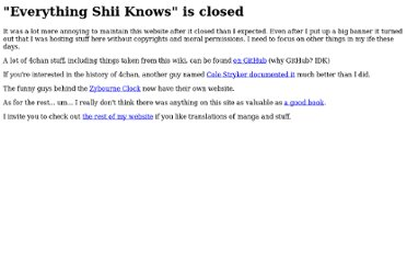http://shii.org/knows/Everything_Shii_Knows