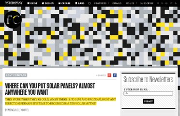 http://www.fastcompany.com/1779540/where-can-you-put-solar-panels-almost-anywhere-you-want
