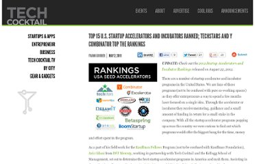 http://tech.co/top-15-us-startup-accelerators-ranked-2011-05