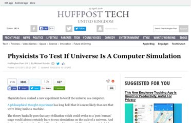 http://www.huffingtonpost.co.uk/2012/12/12/physicists-universe-simulation-test-university-of-washington-matrix_n_2282745.html