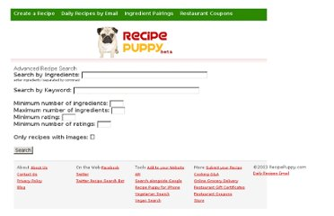 http://www.recipepuppy.com/advanced?