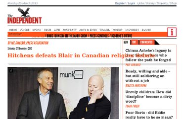http://www.independent.co.uk/voices/faith/hitchens-defeats-blair-in-canadian-religion-debate-2145268.html