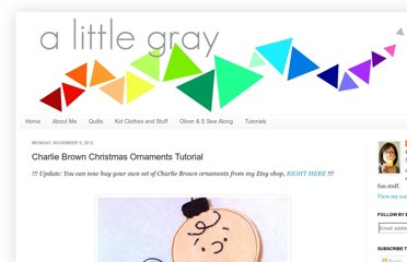 http://alittlegray.blogspot.com/2012/11/charlie-brown-christmas-ornaments.html