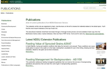 http://www.ag.ndsu.edu/publications