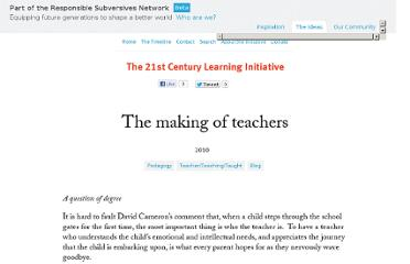 http://www.21learn.org/uncategorized/the-making-of-teachers/