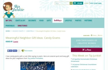 http://www.tipjunkie.com/homemade-gifts/neighbor-gift-ideas-candy-grams/