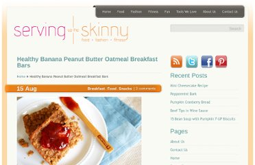 http://www.servinguptheskinny.com/healthy-banana-peanut-butter-oatmeal-breakfast-bars/
