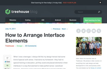 http://blog.teamtreehouse.com/how-to-arrange-interface-elements-4