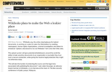 http://www.computerworld.com/s/article/9139180/Wikileaks_plans_to_make_the_Web_a_leakier_place