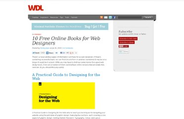http://webdesignledger.com/freebies/10-free-online-books-for-web-designers