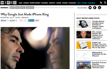 http://www.wired.com/business/2012/12/why-google-loves-ios/