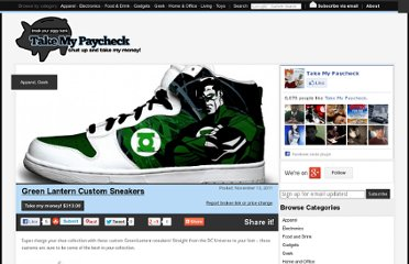 http://www.takemypaycheck.com/apparel/green-lantern-custom-sneakers/