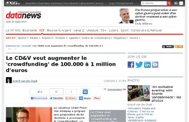 http://datanews.levif.be/ict/actualite/le-cd-v-veut-augmenter-le-crowdfunding-de-100-000-a-1-million-d-euros/article-4000138909109.htm