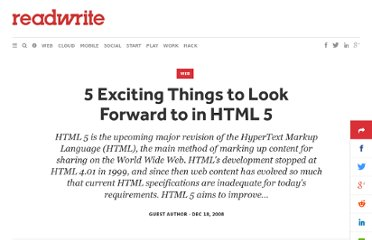 http://readwrite.com/2008/12/18/5_exciting_things_in_html_5