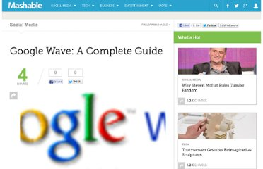 http://mashable.com/2009/05/28/google-wave-guide/