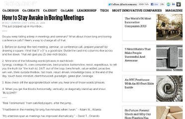 http://www.fastcompany.com/674930/how-stay-awake-boring-meetings