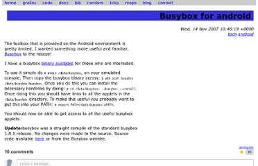 http://benno.id.au/blog/2007/11/14/android-busybox