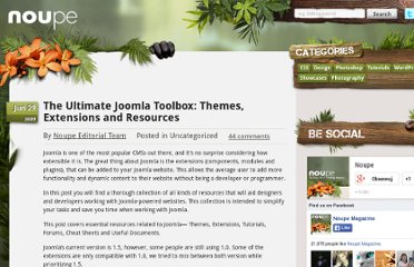 http://www.noupe.com/tools/the-ultimate-joomla-toolbox.html