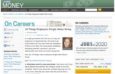 http://money.usnews.com/money/blogs/outside-voices-careers/2011/11/07/10-things-employers-forget-when-hiring