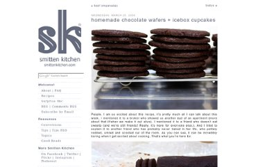 http://smittenkitchen.com/blog/2009/03/homemade-chocolate-wafers-icebox-cupcakes/