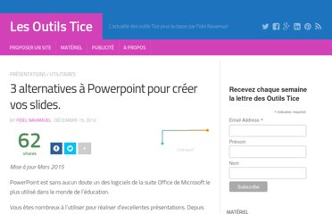 http://outilstice.com/2012/12/3-alternatives-a-powerpoint-pour-creer-vos-slides/