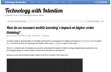 http://www.techwithintent.com/2012/12/how-do-we-measure-mobile-learnings-impact-on-higher-order-thinking/