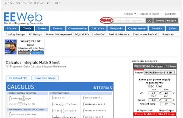 http://www.eeweb.com/toolbox/calculus-integrals-sheet