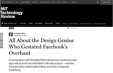 http://www.technologyreview.com/view/425518/all-about-the-design-genius-who-gestated-facebooks-overhaul/