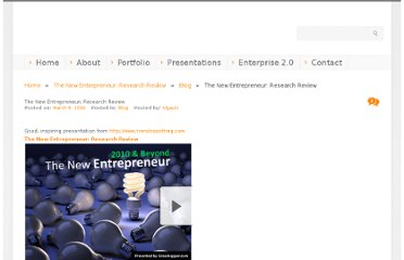 http://scottgavin.info/blog/2010/03/09/the-new-entrepreneur-research-review/