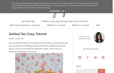 http://messyjessecrafts.blogspot.com/2012/04/quilted-tea-cosy-tutorial.html