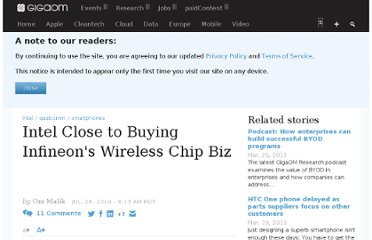 http://gigaom.com/2010/07/26/intel-buying-infineon-wireless-business/