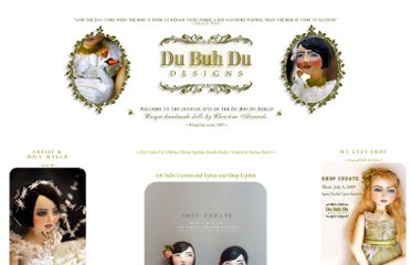 http://dubuhdudesigns.typepad.com/du_buh_du_designs/2009/04/art-dolls-victoria-and-sylvie-and-shop-update.html