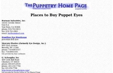 http://www.sagecraft.com/puppetry/building/eyes.html