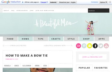 http://www.abeautifulmess.com/2012/02/how-to-make-a-bow-tie-.html