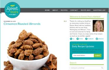 http://sweetpeaskitchen.com/2010/12/cinnamon-roasted-almonds/