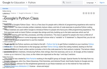 https://developers.google.com/edu/python/