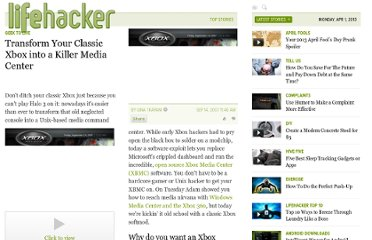 http://lifehacker.com/299809/transform-your-classic-xbox-into-a-killer-media-center