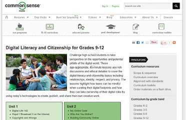 http://www.commonsensemedia.org//educators/curriculum/grades-9-12