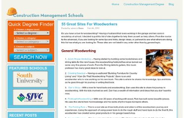 http://www.constructionmanagementschools.net/blog/2010/55-great-sites-for-woodworkers/