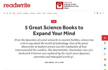 http://readwrite.com/2008/10/01/5_great_science_books