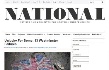 http://nationalcollective.com/2012/12/16/unlucky-for-some-13-westminster-failures/